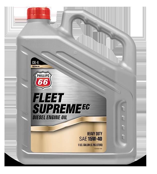 FLEET SUPREME EC® DIESEL ENGINE OIL