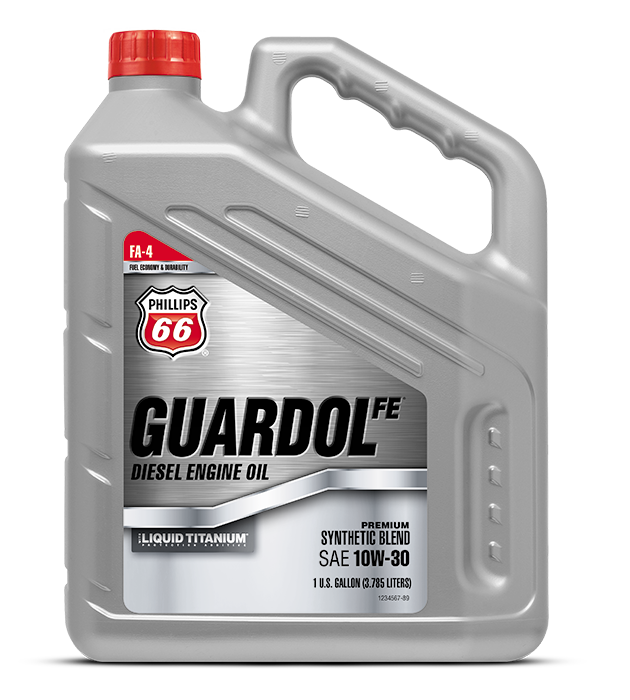 GUARDOL FE® DIESEL ENGINE OIL WITH LIQUID TITANIUM®