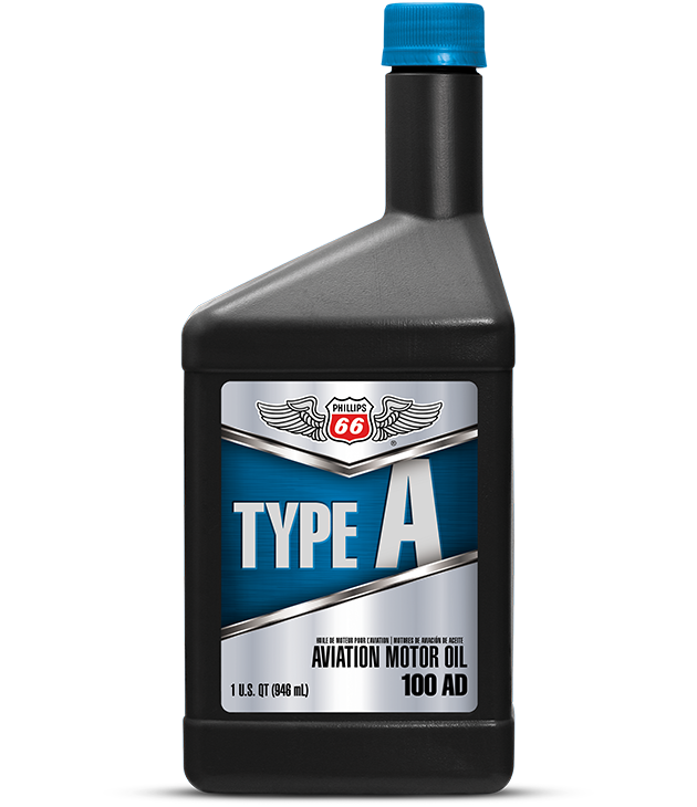 Type A Aviation Motor Oil 100AD