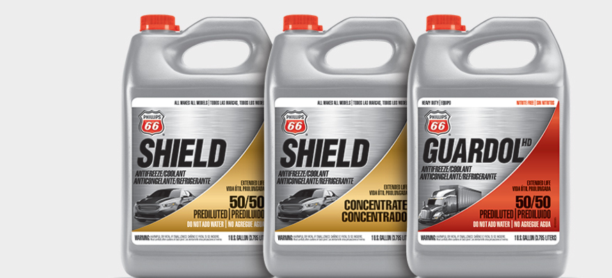 INTRODUCING PHILLIPS 66 COOLANTS AND ANTIFREEZE.