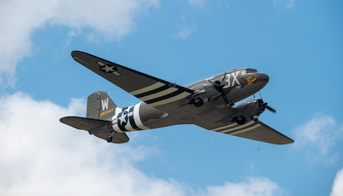 PHILLIPS 66® LUBRICANTS SUPPORTS HISTORIC AIRCRAFT AND ITS MISSION TO NORMANDY.