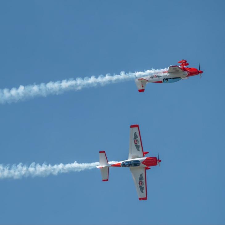Phillips 66 Aerostars Banner