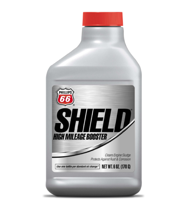 "<sup class=""orderItems""> </sup>SHIELD® HIGH MILEAGE BOOSTER"