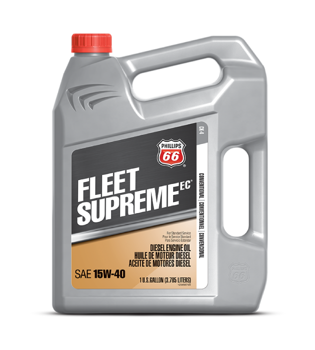 FLEET SUPREME EC® DIESEL ENGINE OIL