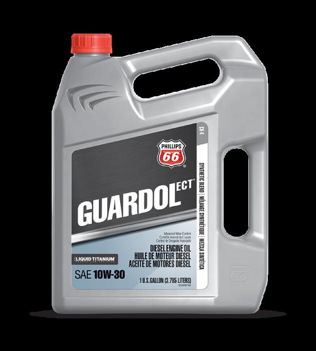 GUARDOL ECT®DIESEL ENGINE OIL WITH LIQUID TITANIUM®