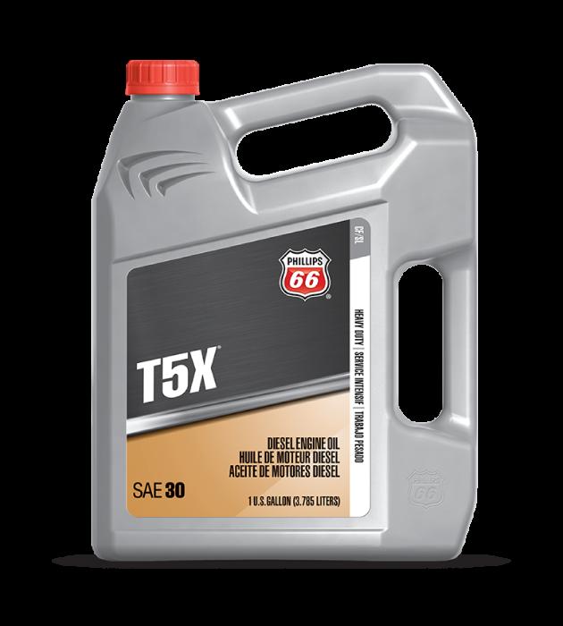 T5X®HEAVY DUTY DIESEL ENGINE OIL