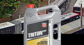 INNOVATION NEVER STOPS AT PHILLIPS 66®—NOW INTRODUCING TRITON® EURO 10W-40